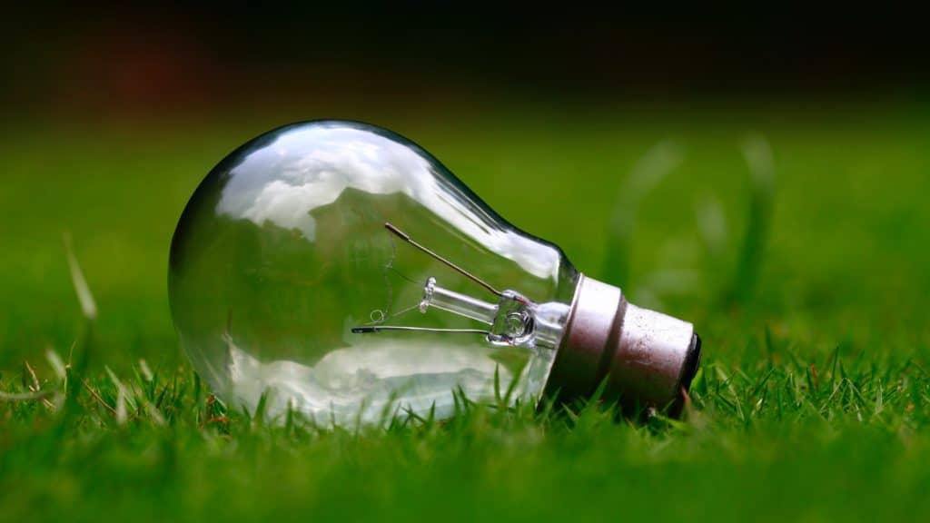 ampoule d'un fournisseur d'électricité et de gaz